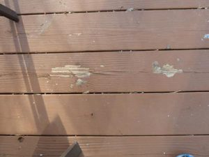 Deck Staining Expectations